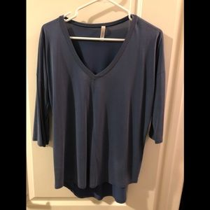 Gilly blue blouse